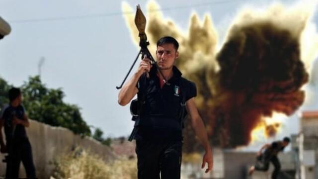 Din simbol al revoltei populare, sex-simbol. Rebelul sirian de care s-a indragostit tot internetul