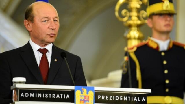 Traian Basescu a revenit la Palatul Cotroceni. VIDEO