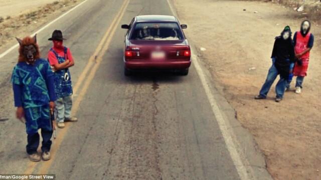 Prostituate, vanzari de arme si alte imagini spectaculoase surprinse de Street View. GALERIE FOTO - Imaginea 13