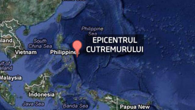 Cutremur de 7,9 in estul Filipinelor. Alerta de TSUNAMI in Indonezia, Filipine si Palau