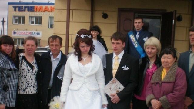 Cum se poate strica intr-o secunda cea mai fericita zi din viata lor. Cum a pozat mireasa la nunta