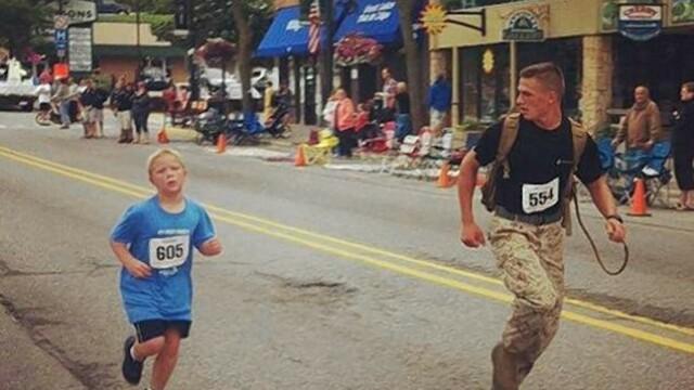 Poza care a impresionat SUA: un soldat renunta la \