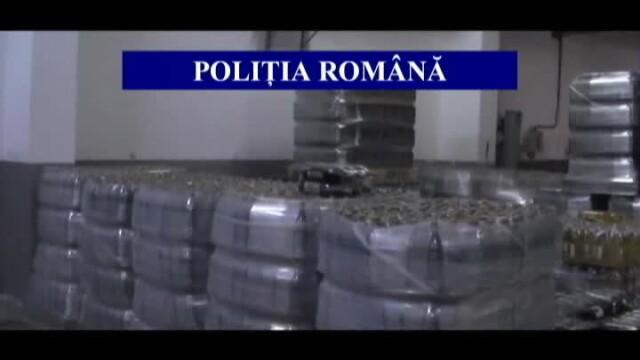 9% alcool etilic, apa si coloranti. 25.375 de litri de vin contrafacut, confiscati la Galati
