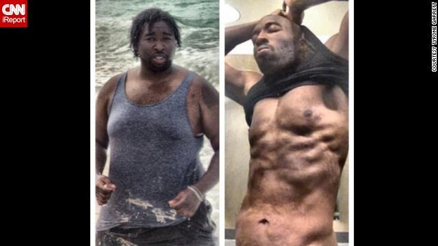 Un barbat din Statele Unite a slabit 63 de kilograme dupa ce prietena l-a anuntat ca este gravida - Imaginea 1