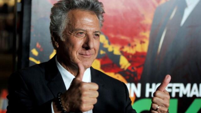 """Dustin Hoffman, altă acuzație de hărțuire sexuală: """"Stătea acolo, gol. Aproape că am leșinat"""""""