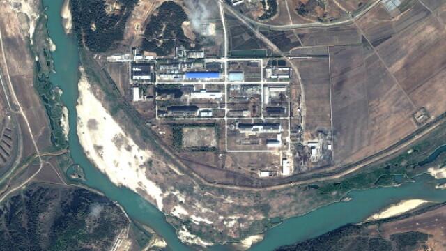 Imagini din satelit: Coreea de Nord si-ar fi dublat capacitatea de imbogatire a uraniului