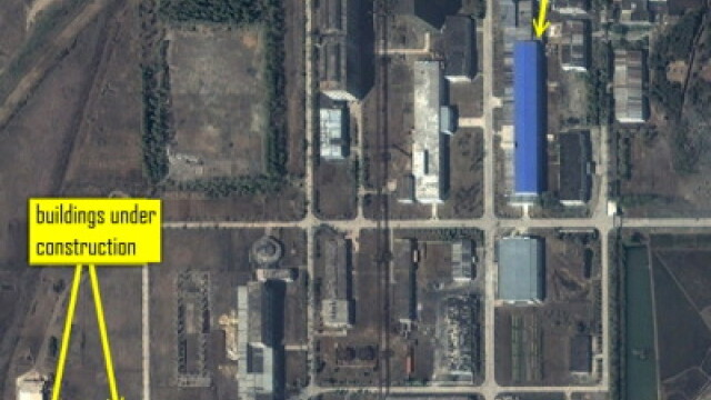 Imagini din satelit: Coreea de Nord si-ar fi dublat capacitatea de imbogatire a uraniului - Imaginea 2
