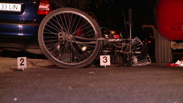 accident, bicicleta