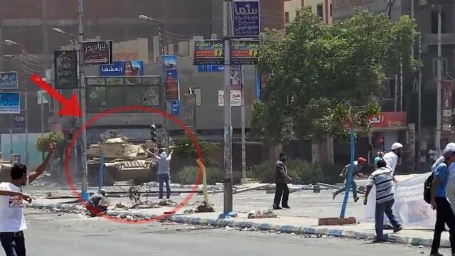 Protestatar impuscat in Ismailia, Egipt