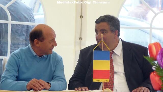 Florin Cioaba, Traian Basescu