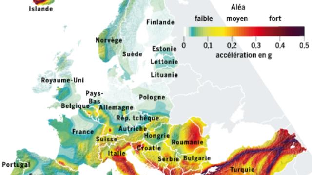HARTA SEISMICA a Europei. Romania, printre cele mai expuse zone in fata unui cutremur fara precedent - Imaginea 1
