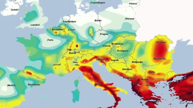 HARTA SEISMICA a Europei. Romania, printre cele mai expuse zone in fata unui cutremur fara precedent - Imaginea 3