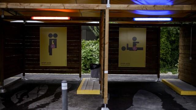 Primele imagini din bordelul drive-in din Zurich. Autoritatile spre sa rezolve problema prostitutiei - Imaginea 5