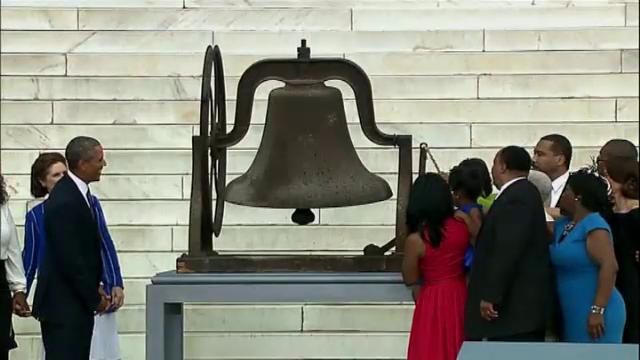America a marcat cu fast 50 de ani de la discursul istoric al lui Martin Luther King in Washington