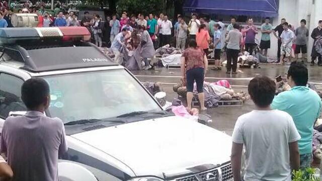 Explozie la o fabrica din China