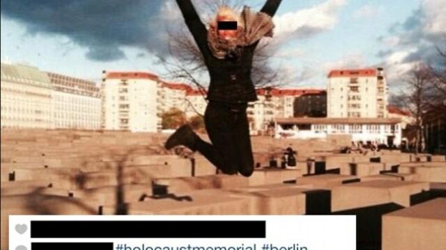 Selfie-urile criticate in toata lumea. Cum se pozeaza tinerii la memorialele genocidului din Al Doilea Razboi Mondial - Imaginea 3