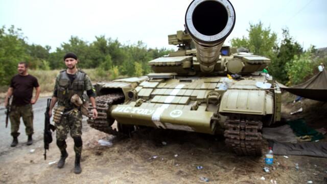 Criza in Ucraina. Primele negocieri intre militari rusi si ucraineni au avut loc pe linia de front