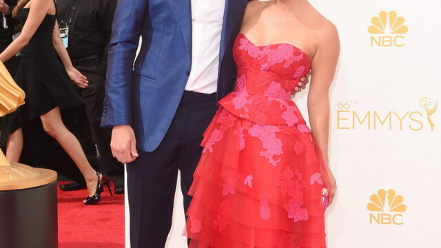 Moda la gala Emmy 2014: Vedetele au ales rosu si alb pentru defilarea pe covorul rosu - Imaginea 20