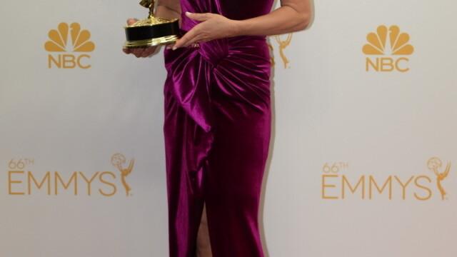 Moda la gala Emmy 2014: Vedetele au ales rosu si alb pentru defilarea pe covorul rosu - Imaginea 18