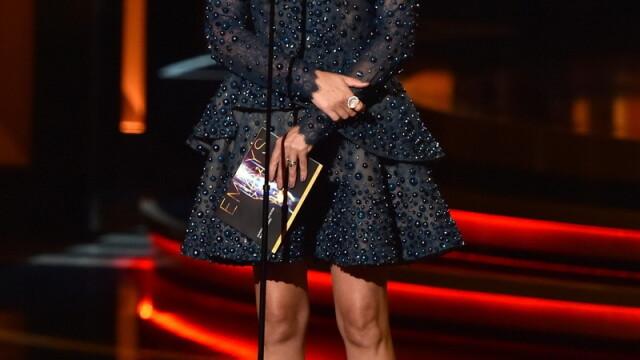 Moda la gala Emmy 2014: Vedetele au ales rosu si alb pentru defilarea pe covorul rosu - Imaginea 8
