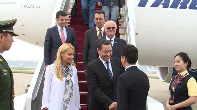 Victor Ponta, in vizita oficiala in China. Temele care se afla pe agenda de discutii cu oficialii chinezi