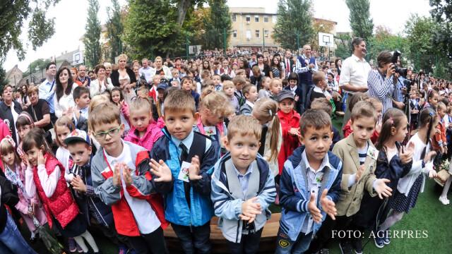 elevi Timisoara FOTO AGERPRES