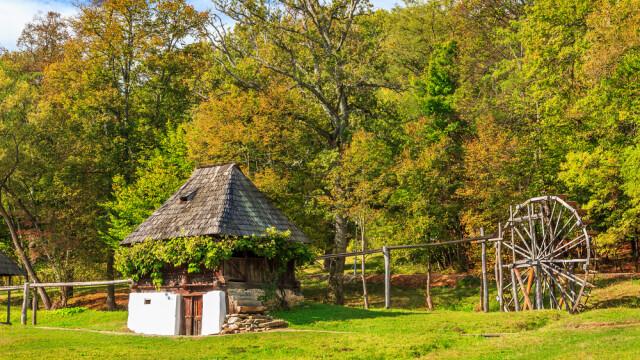 casa taraneasca din muzeul Astra, Sibiu