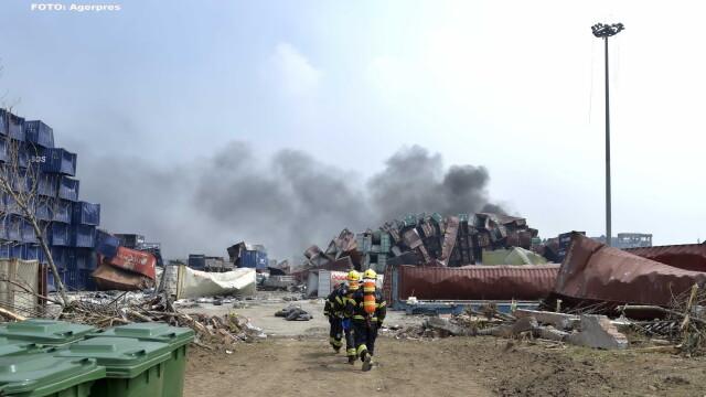 Urmarile exploziilor de la Tianjin. Nivelurile de cianura din apa, de pana la 277 mai ridicate decat cele acceptate