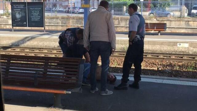 Cine este atacatorul din trenul care circula pe ruta Amsterdam-Paris. Autoritatile il trateaza ca pe un caz de terorism