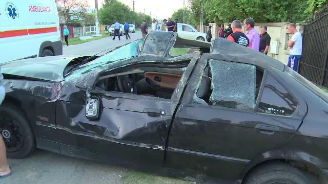 Trei persoane si-au pierdut viata, iar alte patru au fost grav ranite intr-un accident, in apropiere de Caracal