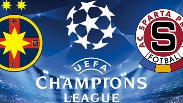 Meciul verii pentru Steaua e in direct la ProTV: Steaua - Sparta Praga, miercuri, de la 20:45