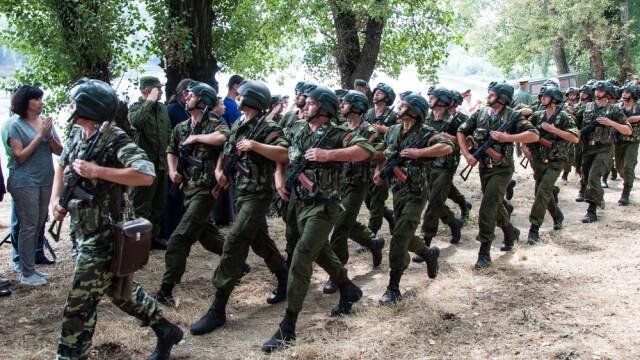 exercitiu militar in Transnistria