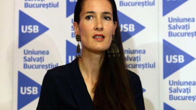 Clotilde Armand, dupa ce sotul ei a acuzat echipa de campanie a USR de abuzuri: \