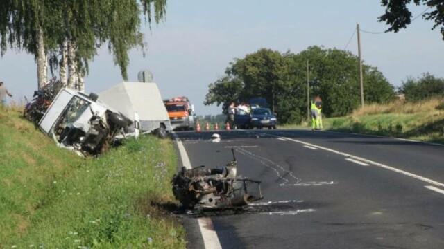 accident roman Ungaria