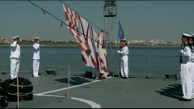 Tur de forte la bordul fregatei Marasesti, de Ziua Marinei. Premiera din acest an