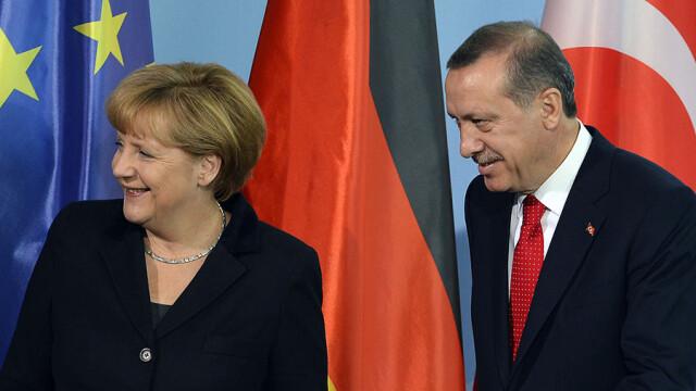 Erdogan si Angela Merkel