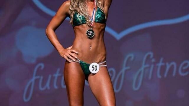 A renuntat la dieta pe baza de chipsuri si fasole, acum ridica 100 de kg si participa la concursuri de Miss. Cum arata. FOTO - Imaginea 1