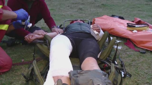 Interventie cu peripetii in Piatra Craiului. De ce nu a putut un elicopter SMURD sa salveze o turista dintr-o prapastie