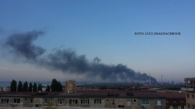Explozie cu sase raniti la Rafinaria Petromidia din Navodari. In ce directie se va deplasa aerul poluat in urma accidentului - Imaginea 2