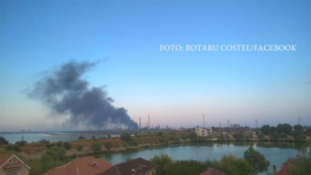 Explozie cu sase raniti la Rafinaria Petromidia din Navodari. In ce directie se va deplasa aerul poluat in urma accidentului - Imaginea 3