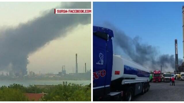 Explozie cu sase raniti la Rafinaria Petromidia din Navodari. In ce directie se va deplasa aerul poluat in urma accidentului - Imaginea 4