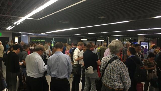 alerta aeroport Frankfurt