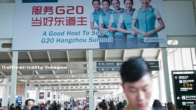 Pentru prima data, China gazduieste summit-ul G20, al marilor puteri ale lumii. Comunistii inchid fabricile si golesc un oras - Imaginea 4