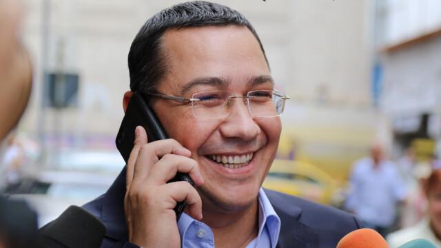 Ponta: Dacă ne fac trădători cei din \'Corul Bocitoarelor\' de la Belina e foarte bine