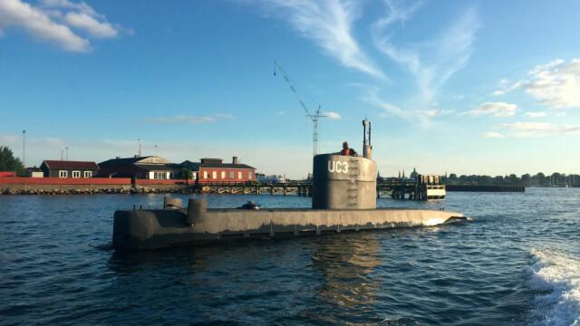 Proprietarul unui submarin, reţinut după dispariţia unei ziariste