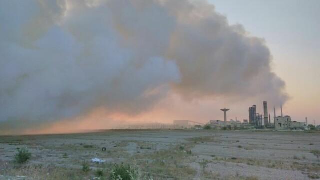 incendiu Bacau