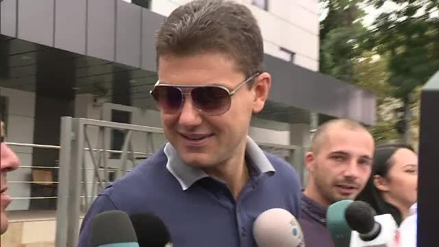 Cristian Boureanu, prima vizită la poliţie. \