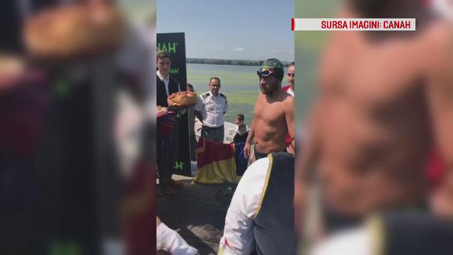Avram Iancu, primit cu fast în țară, după primii 2.000 de km