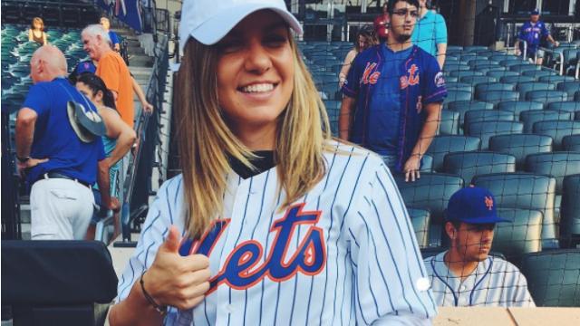 Simona Halep, starul unui meci de baseball din New York