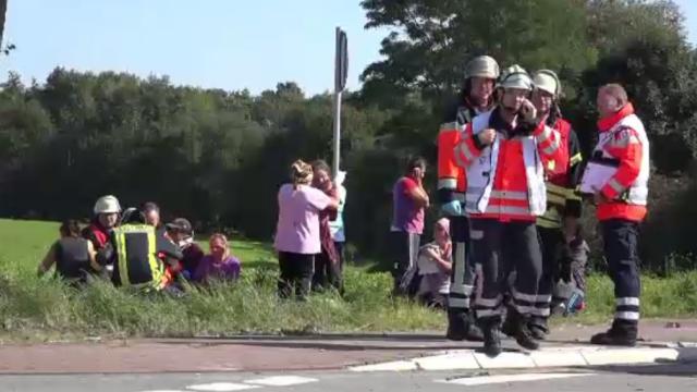 Starea în care se află cei 42 de români implicați în accidentul din Germania